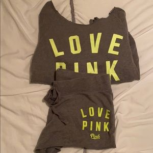 Victoria Secret Pink matching set